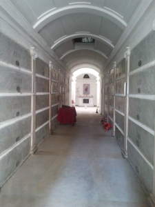 L'interno della Cappella